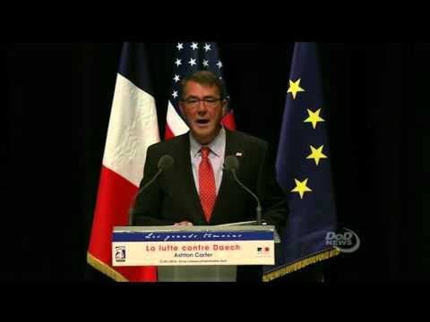 SECDEF Counter-ISIL Speech in Paris