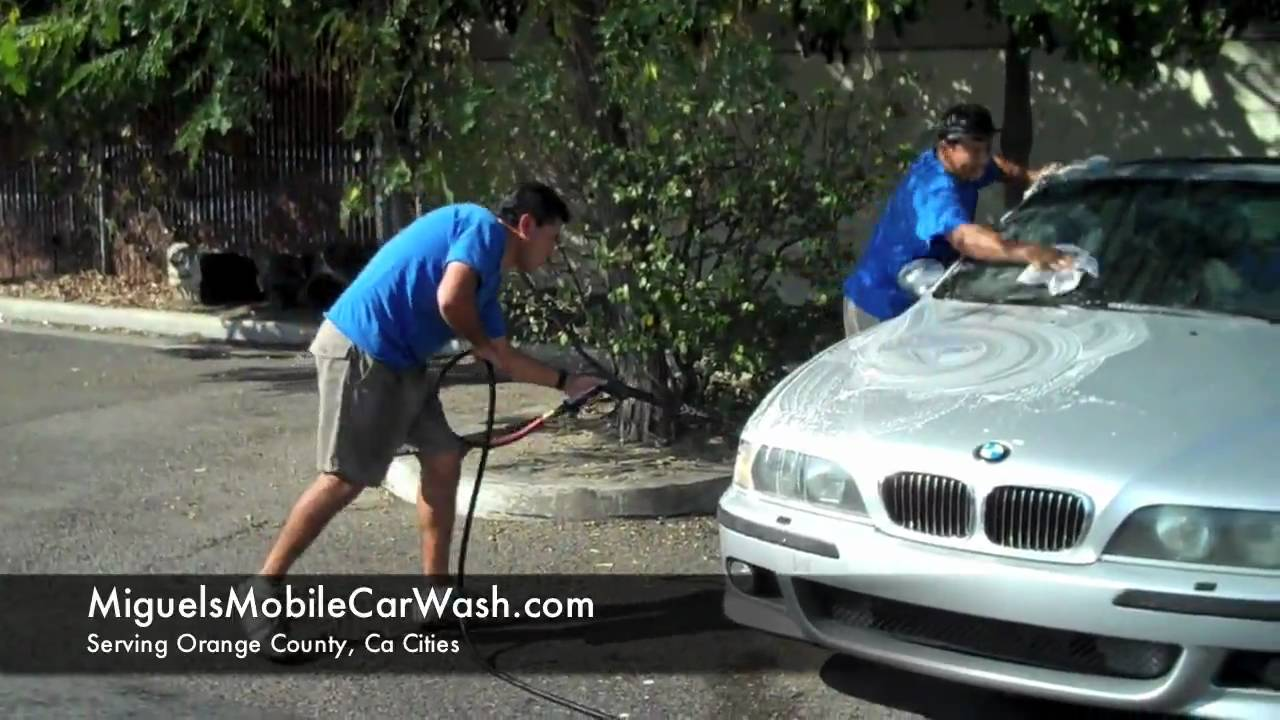 Newport Beach Car Wash