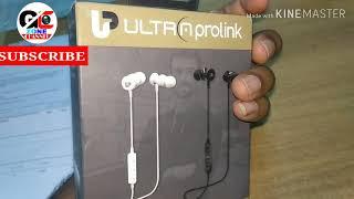 Ultra Prolink Bluetooth Earphpne um0069 unboxing hindi 2018