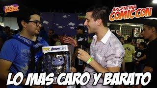 Lo mas CARO y BARATO de Comic Con Argentina 2019