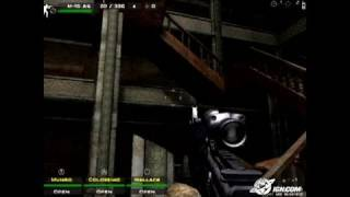 Close Combat: First to Fight Xbox Gameplay - Stair Tactics