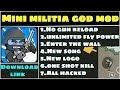 Download mini militia god mod 2017|all Unlimited