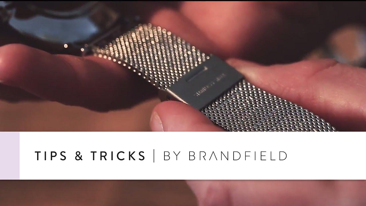 Goede Cluse mesh horlogeband inkorten - Brandfield - YouTube HD-15