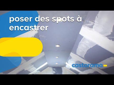 Comment installer un spot dans un faux plafond doovi - Comment mettre des spots dans un faux plafond ...