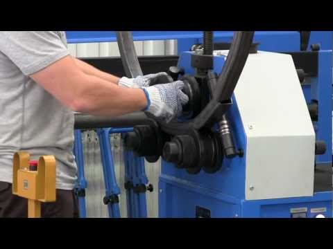 Profil- és csőhengerítő / Section roller / Ring roller / Tube roller / Roll Bender