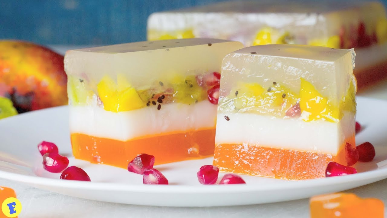 Fruit And Jelly Cake Recipe: फ्रूट जेली केक