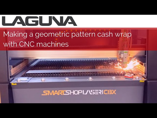 Making a geometric pattern cash wrap with CNC machines | Can you build this?
