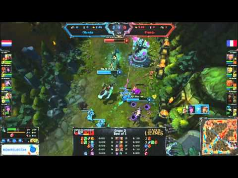 IeSF 2013 World Championship - LoL - Group Stage - France vs Netherlands