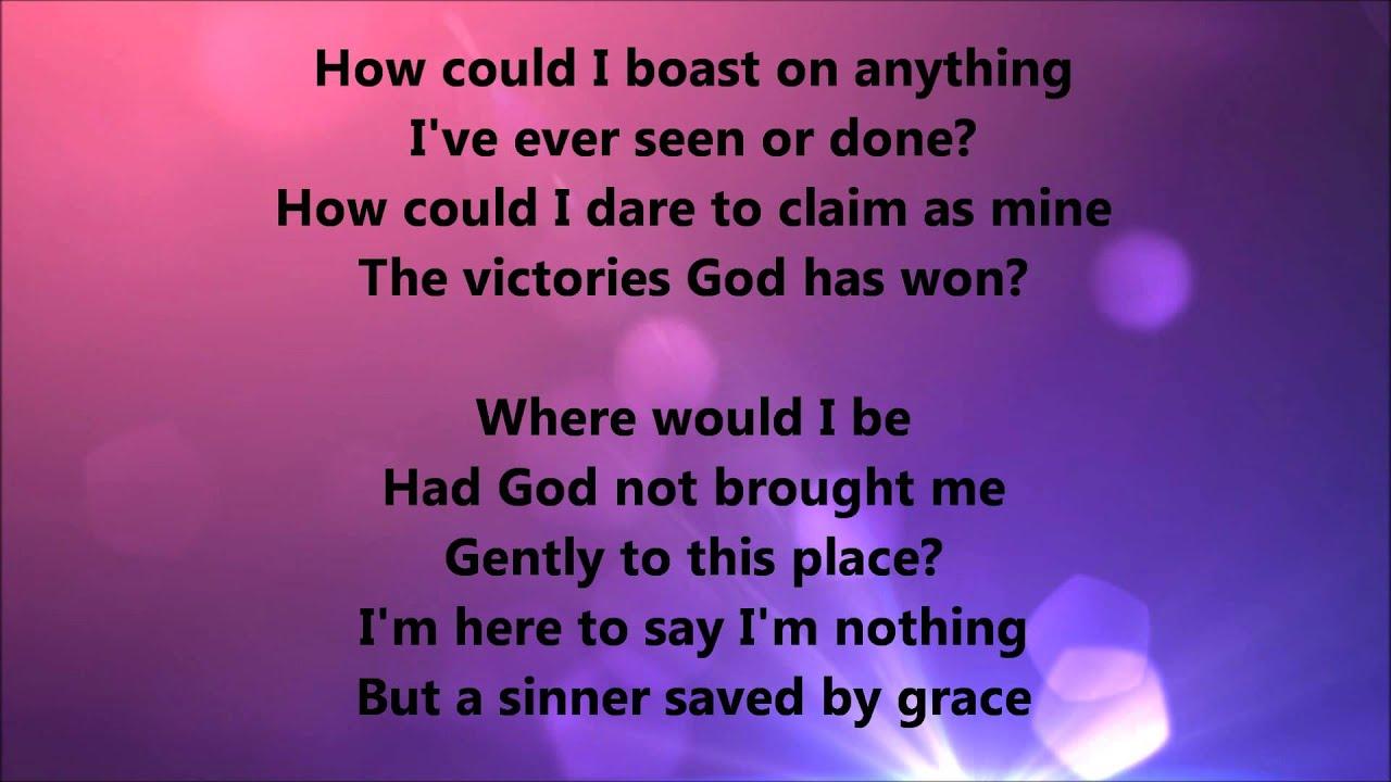 sinner saved by grace pdf