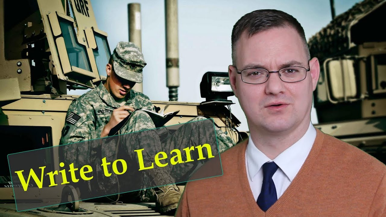Write to Learn: Reasons to Write for Military Self-Development