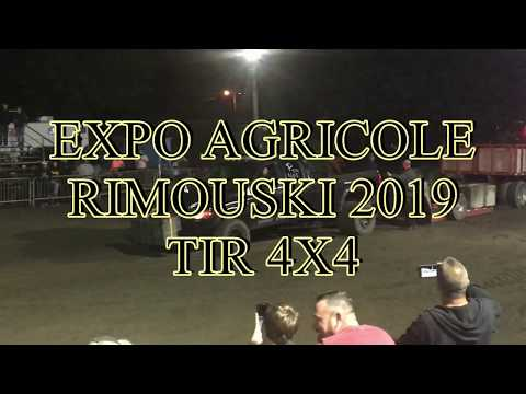 PAT'S TRUCK TIR 4X4 EXPO AGRICOLE RIMOUSKI 2019