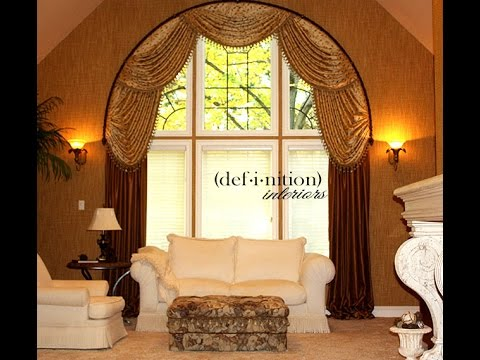 Window treatment ideas- valance, drapes, curtains, shades and more