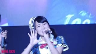 Day 2 Show 2 ]] Team 8 - Aitakatta (Nanami-focused) 2日目第2ライブの山田菜々美カメラ。