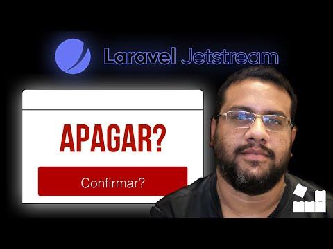 Vídeo no Youtube: Criando Modal de Confirmacão no Jetstream #livewire #laravel #php