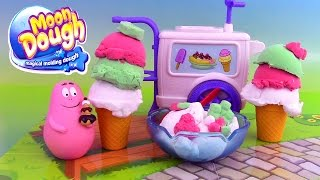 Pâte à modeler Le Glacier Moon Dough Ice Cream Playset Glaces