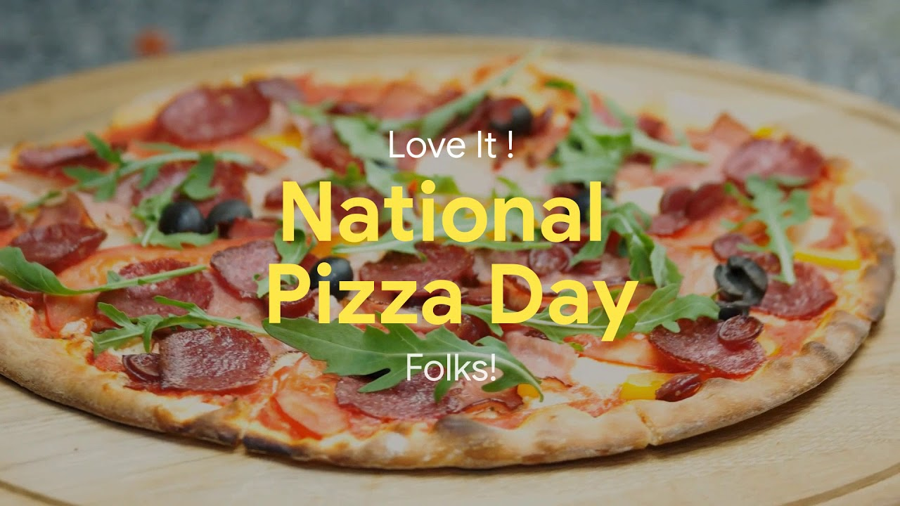 national pizza day 2020