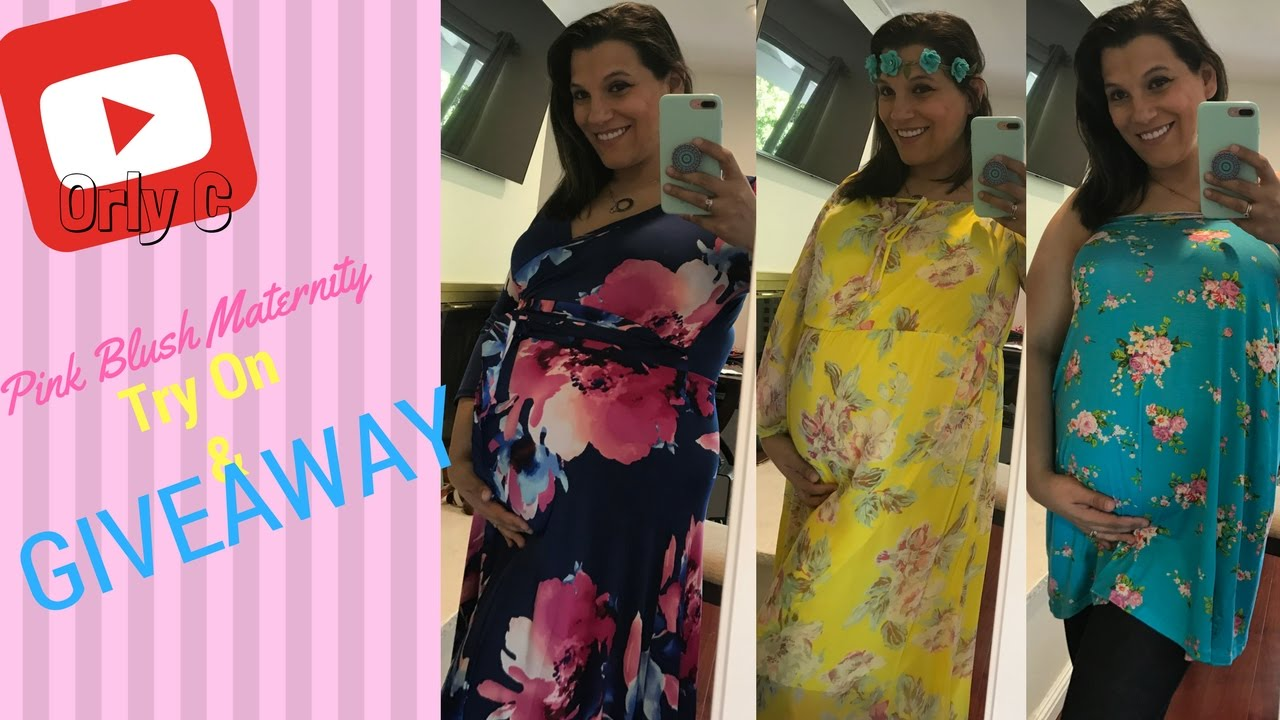 db1639f0a4afd Pregnancy Unboxing/Try On Haul! | PINKBLUSH Maternity + GIVEAWAY!(CLOSED)