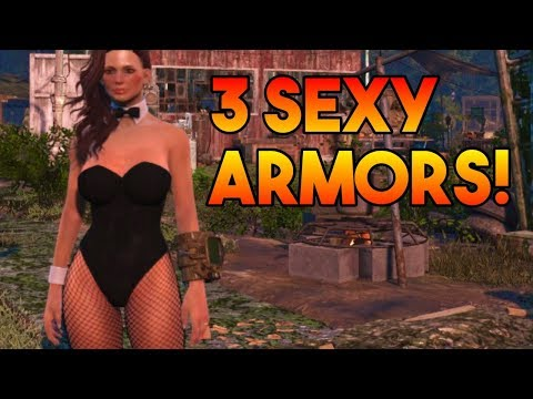 Fallout 4 - 3 Sexy Armors! (Xbox One)