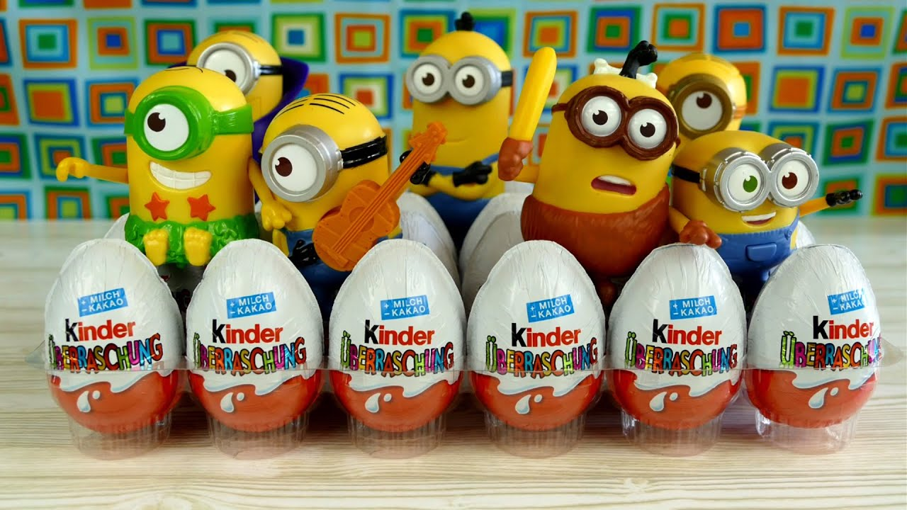 24 Minion Surprise Eggs Minion Toys from Minions Movie