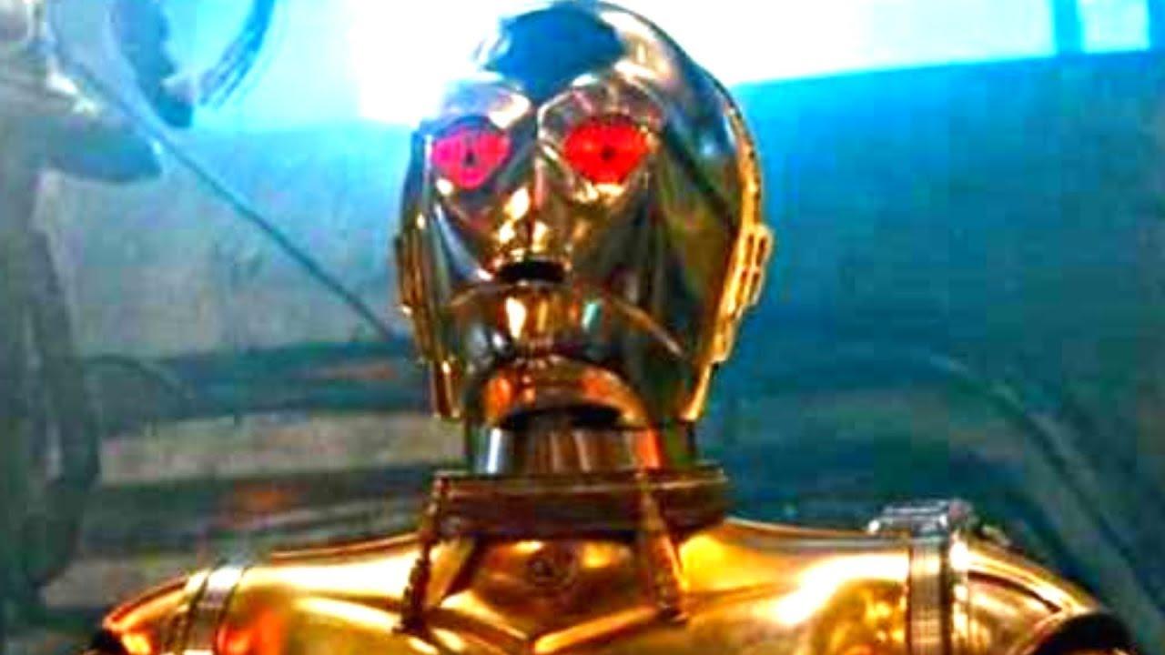 Печальные новости о судьбе C-3PO из слухов о Скайуокере Восход