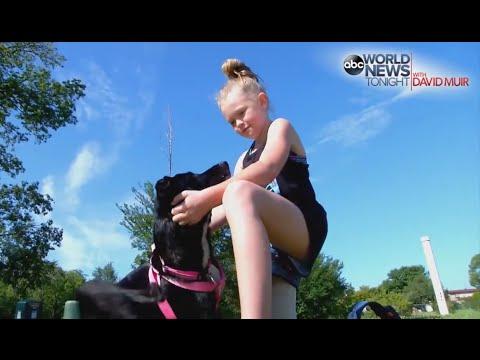 Girl, Her Dog Receive New Prosthetic Legs