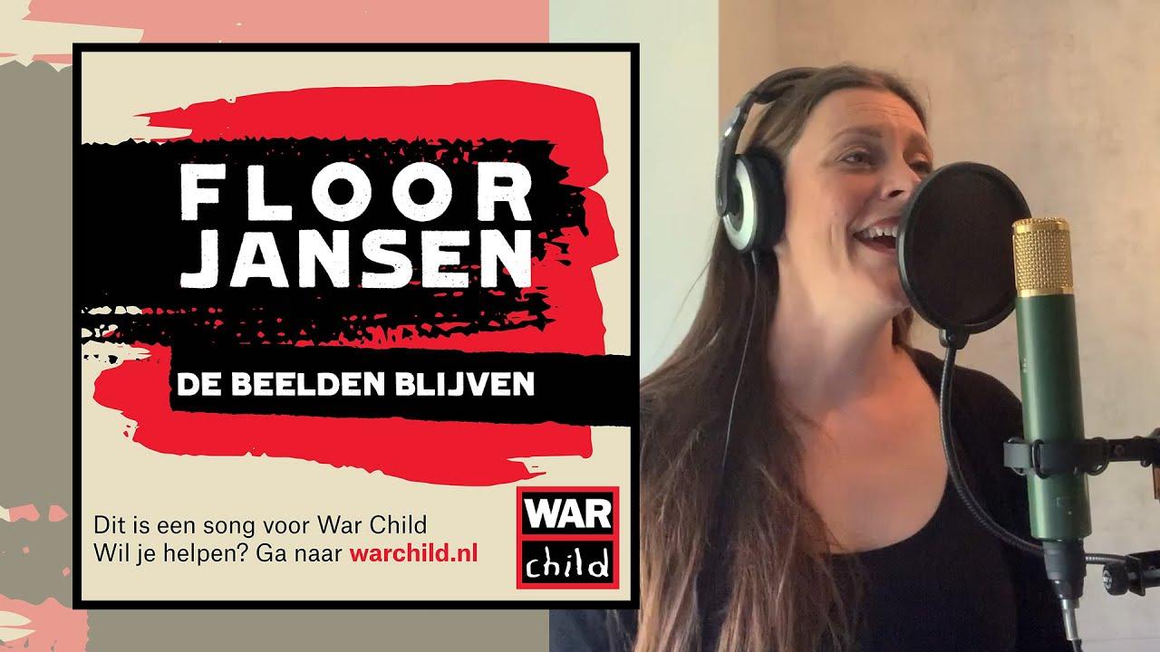 SINGING 'DE BEELDEN BLIJVEN' (WAR CHILD)