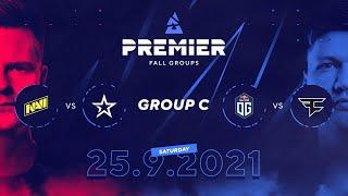 BLAST Premier Fall Groups: NAVI vs. Complexity, OG vs. FaZe   Group C, Day 2