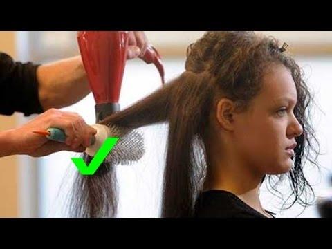 Como secarse el cabello corto uno mismo