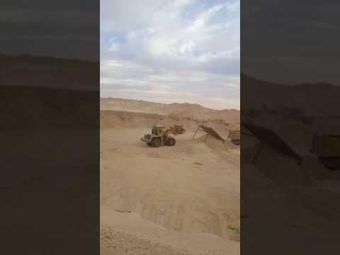 Sand mine algeria / Ighil Ali