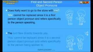 Object Pronouns - Grammar Lesson for Grade 3 Kids