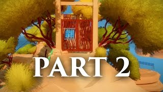 The Witness Gameplay Walkthrough Part 2 - OPEN DOORS