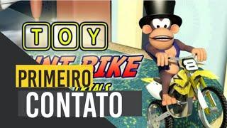 Toy Stunt Bike PS4 - Primeiro Contato! Macaco Motorizado  #toystuntbike