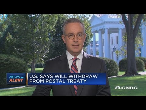 US says it will withdraw from global postal treaty