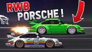 Pixel Car Racer - PORSCHE RWB vs *SUPERCARS*