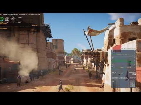 Assassin's Creed Origins Benchmark - Ultra 4K TITAN Xp
