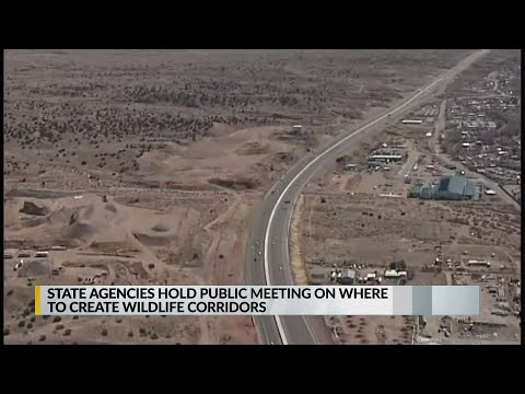 State Agencies Hold Public Meeting On Wildlife Corridors