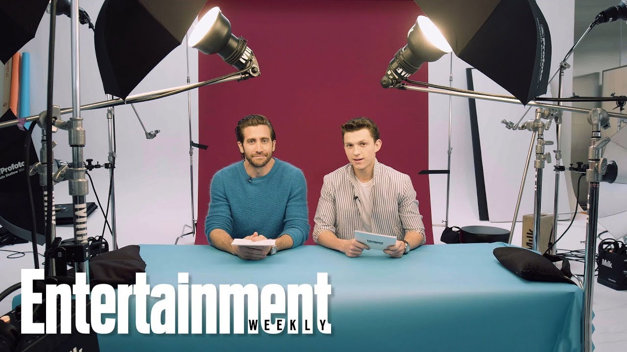 Tom Holland & Jake Gyllenhaal Interview Each Other | Digital Cover Shoot | Entertainment Weekly