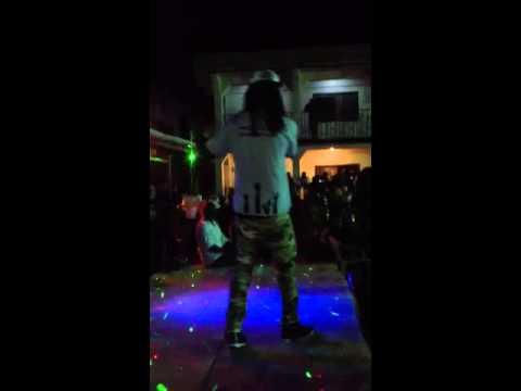 Nasser Ayoub and LAJ performing Live in Bo, Sierra Leone