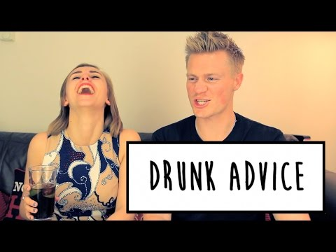 DRUNK ADVICE WITH BEN BROWN | Hannah Witton