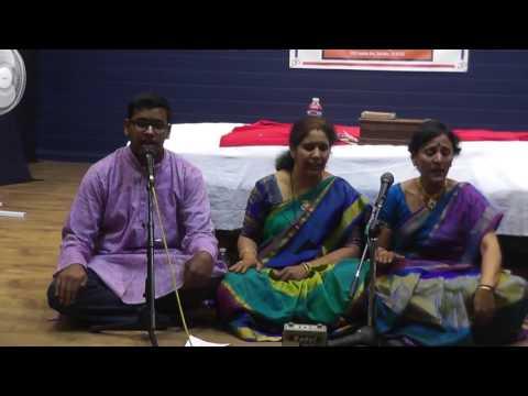 Song on Shiva by Yasshaswi Pisupatii, Smt  Sesha Mahalakshmi Pisupati  and Smt Hyma Vempaty