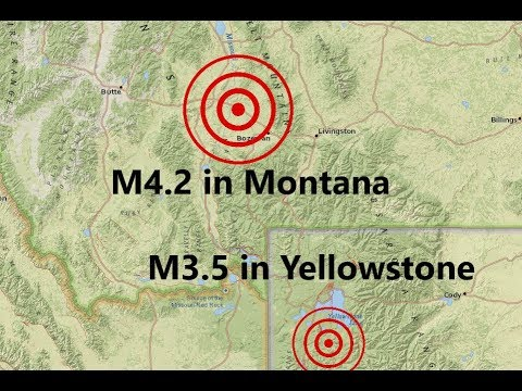 M3.5 in Yellowstone is the Largest since 2017 - M4.2 in Montana: Are these foreshocks?