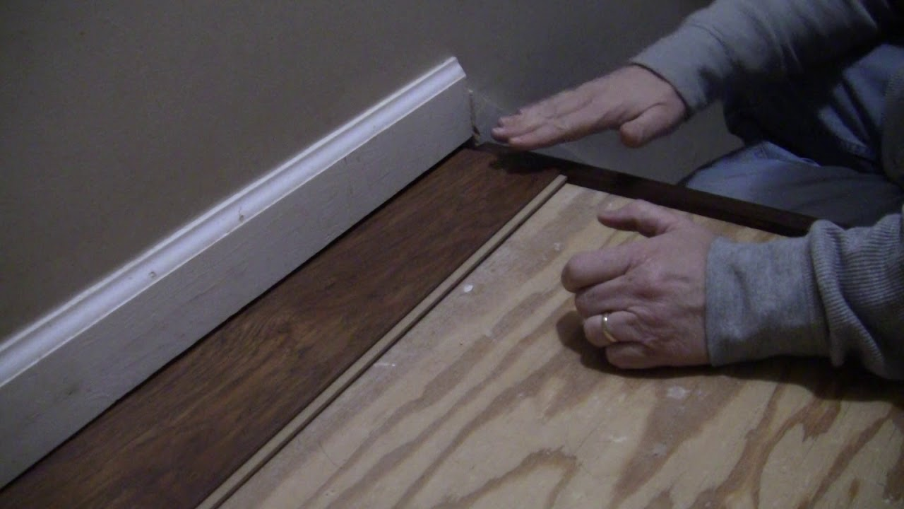 Installing Allen Roth Swiftlock Wood Laminate Flooring YouTube
