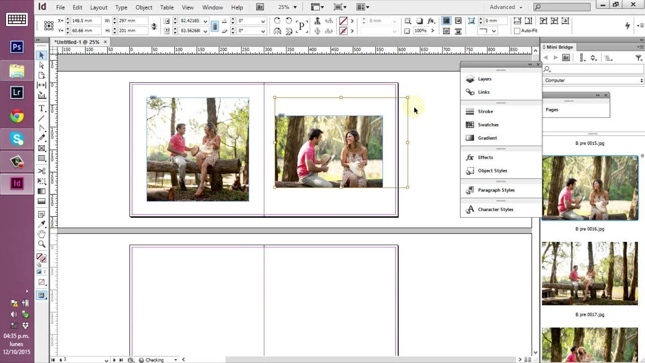 Fotolibro en InDesign 1 - YouTube
