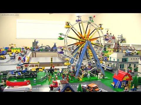 LEGO Creator Ferris Wheel & Fairground Mixer together! - YouTube