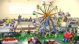 LEGO Creator Ferris Wheel & Fairground Mixer together!