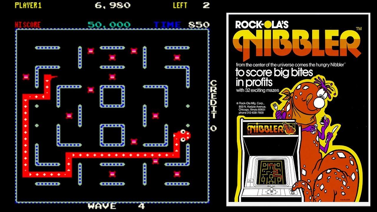 Resultado de imagen para Nibbler (video game)