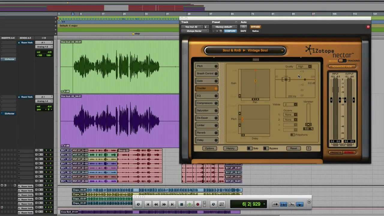Vocal Mixing Master Class: Thickening Vocals with Doubling Effects |  iZotope Nectar