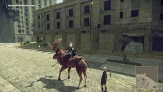 尼爾自動人形駝鹿觀察日記