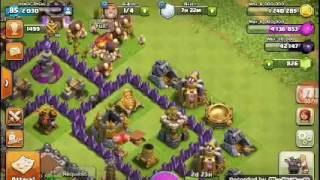 Un atac micut cu trupe decente:Clash Of Clans:Ep9