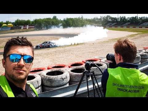 THE RISK OF FILMING MOTORSPORT
